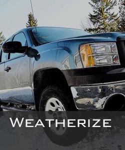 auto weatherization services